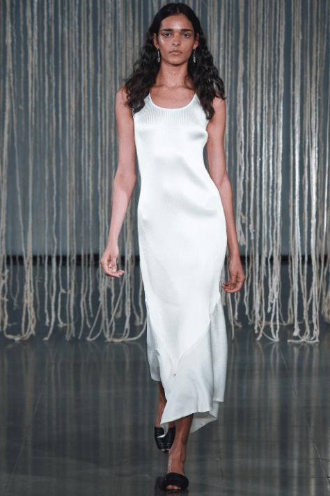 Vestido de la colección de verano 2016 de Barbara Casasola