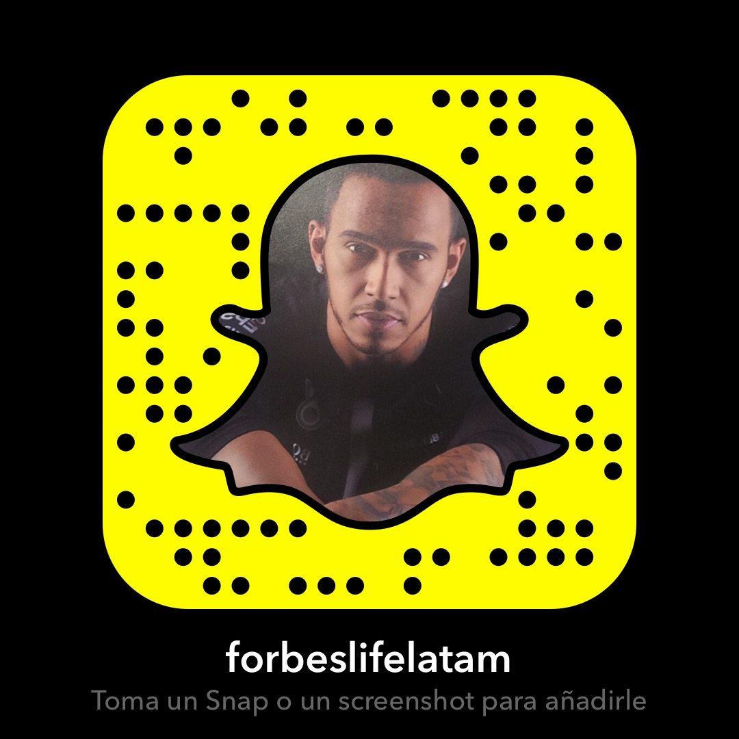 Agréganos en Snapchat