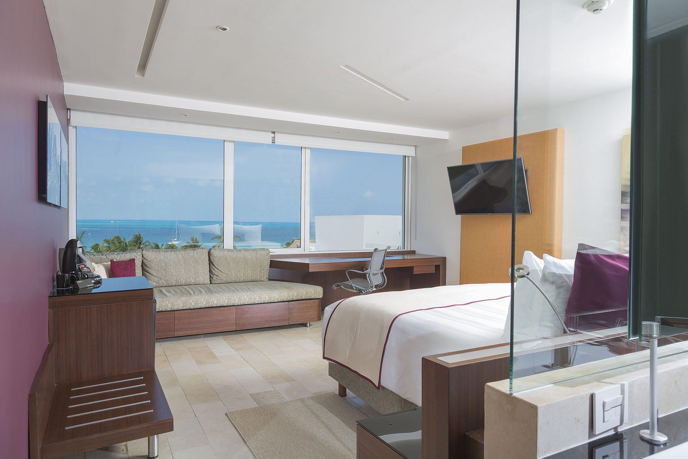 Habitación con vista a la playa