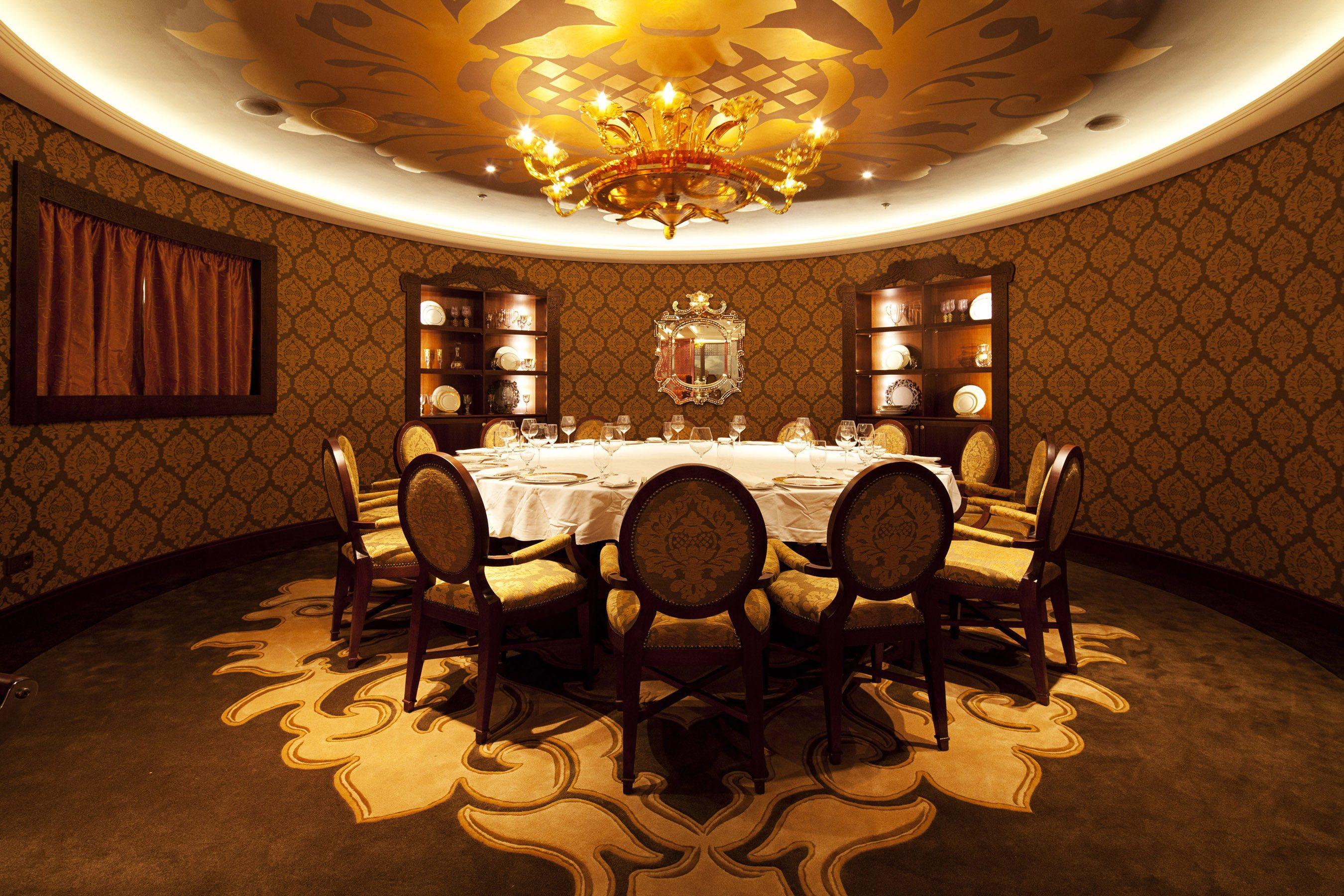 Salón privado en el restaurante Palo