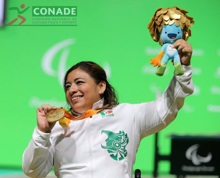 Amalia Pérez, Medallista Paralímpica, Juegos Paralímpicos de Río 2016