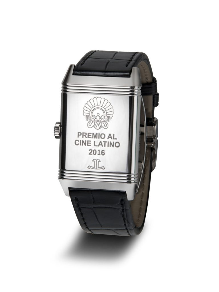 Reverso del reloj que recibió el mexicano