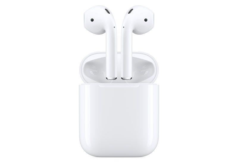 Los AirPods son unos audífonos inalámbricos con micrófono integrado que tienen su propio procesador. (Foto: Apple)