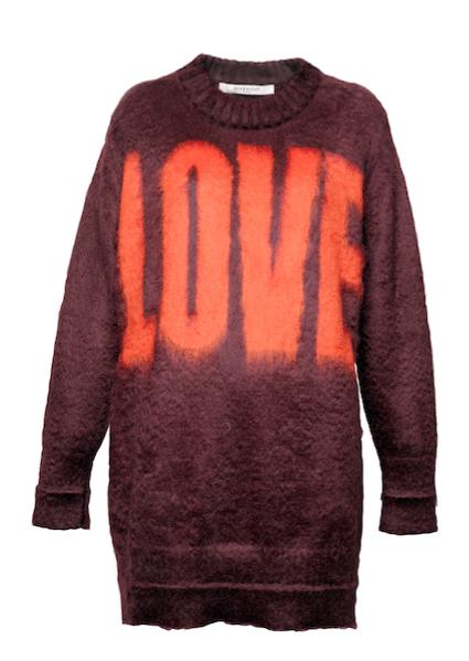 Suéter de Givenchy.