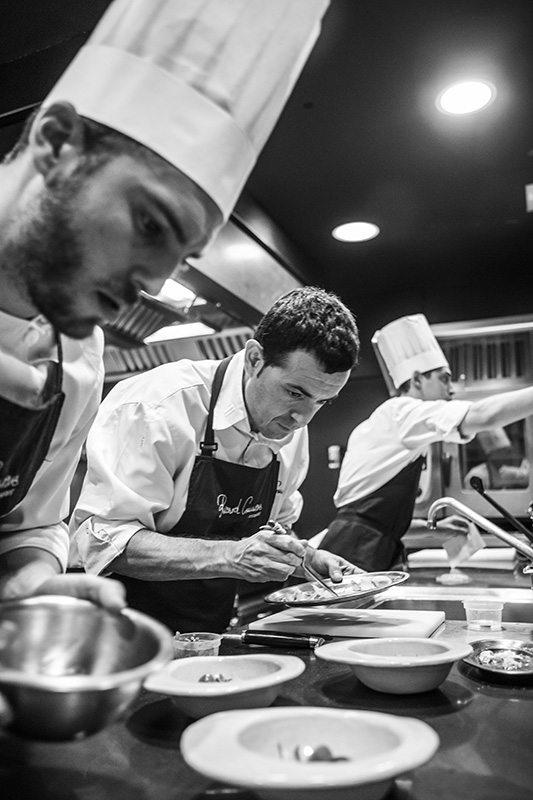 Chefs Ricard Camarena y César Tovar