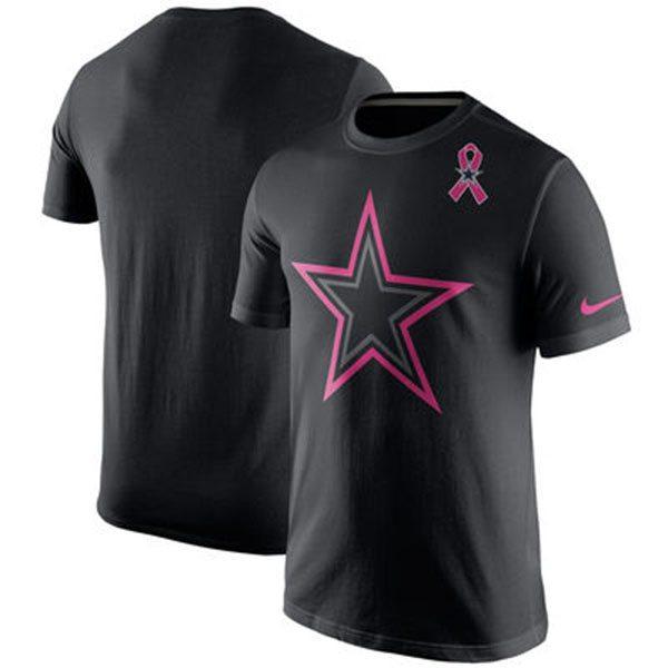 Jerseys de los Dallas Cowboys para octubre rosa.