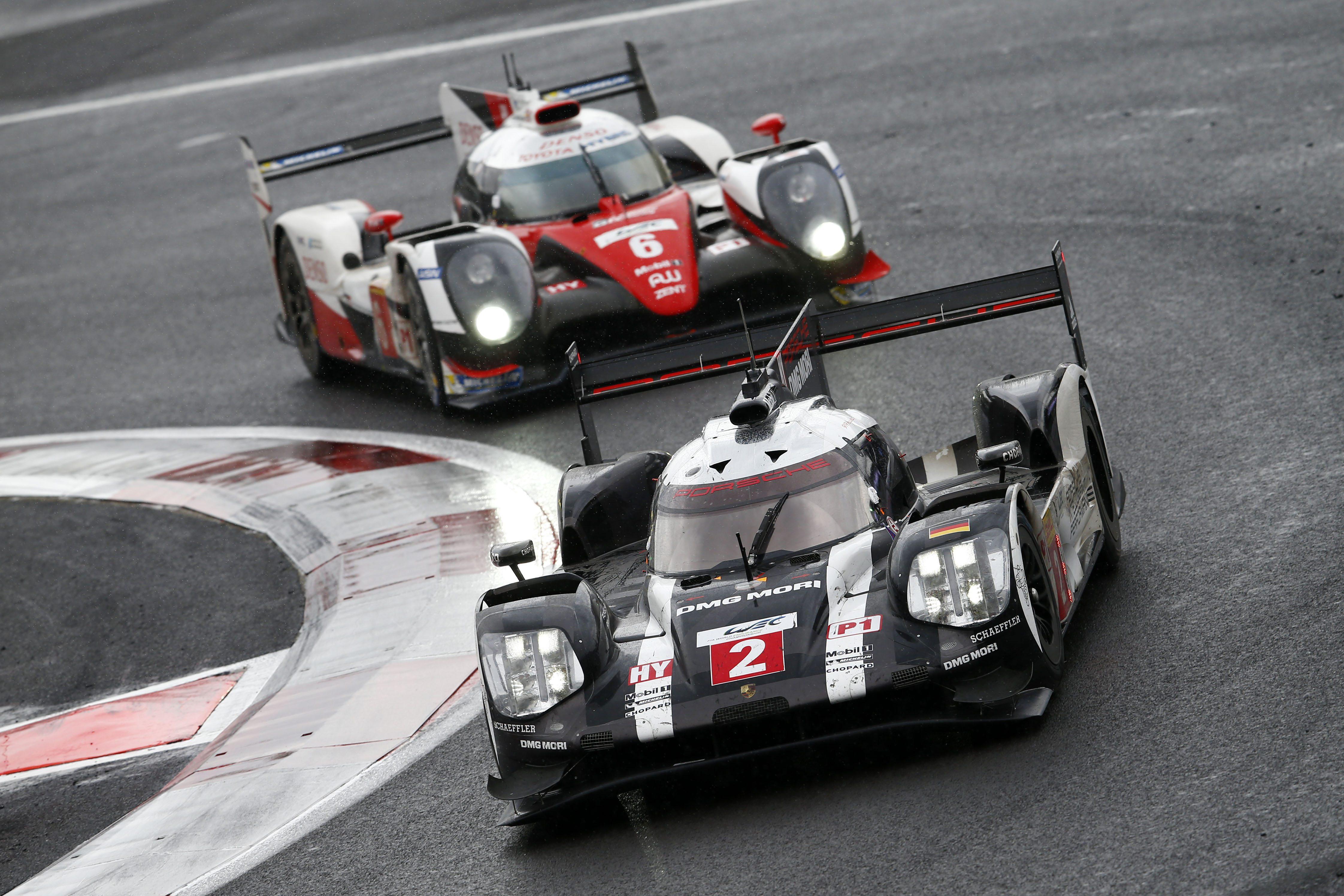 Porsche 919 Hybrid, Porsche Team: Romain Dumas, Neel Jani, Marc Lieb