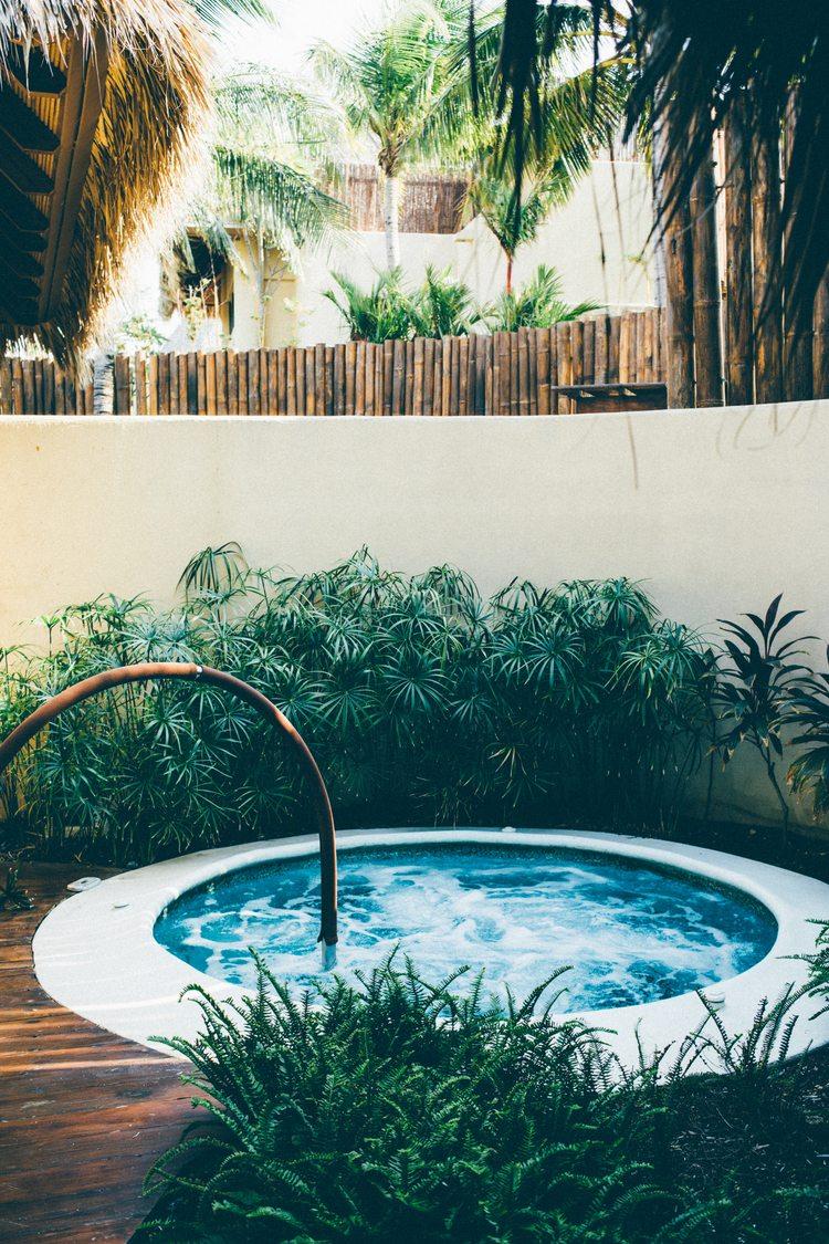 Spa dentro del hotel Mukul en Costa Esmeralda, Nicaragua.