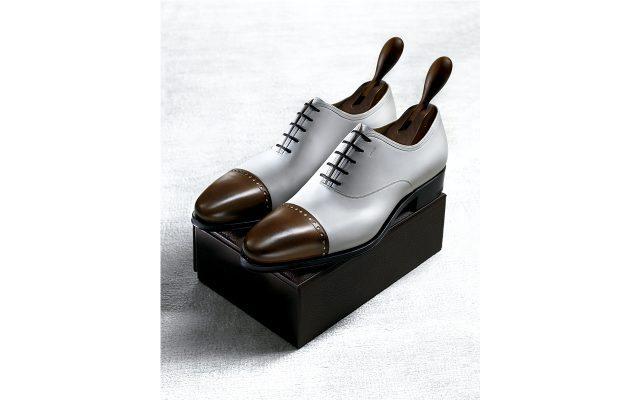 Zapatos Salvatore Ferragamo estilo Oxford bicolor personalizados