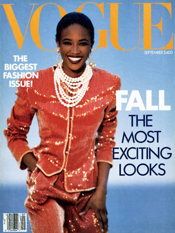 Revista de septiembre de Vogue de 1989