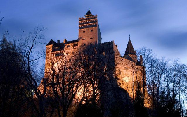 Castillo en donde se dice que vivía el conde Drácula.