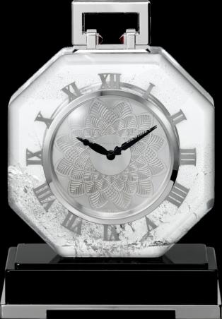 Reloj de sobremesa excepcional de Cartier.