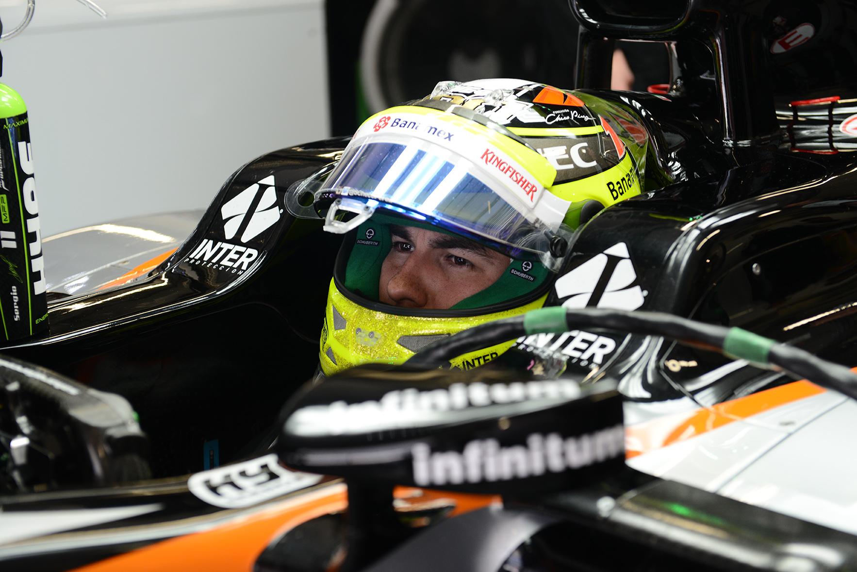 F1 Sergio Checo Perez