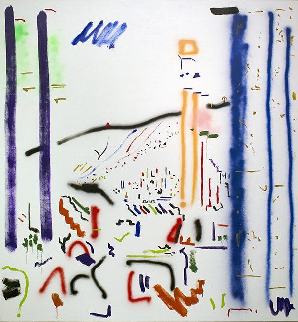 """Graffitti Ruins"", Zachary Cummings."