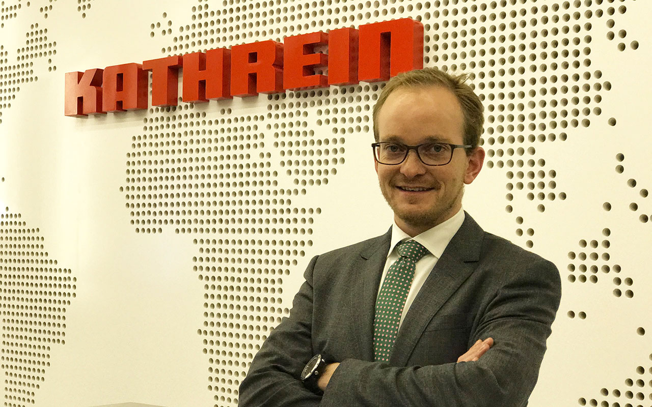 Anton Kathrein, CEO de Kathrein. (Foto: Staff.)