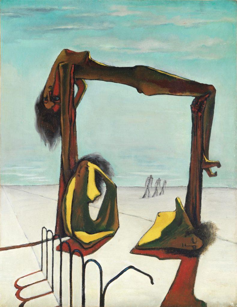 Pintura egipcia surrealista de 1939.