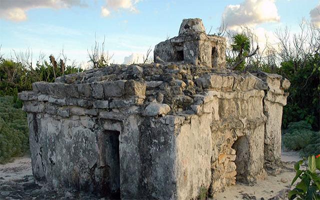 Sitios arqueológicos construidos por los Mayas en Cozumel.
