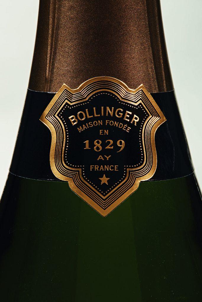 Etiqueta Bollinger R.D. 1988