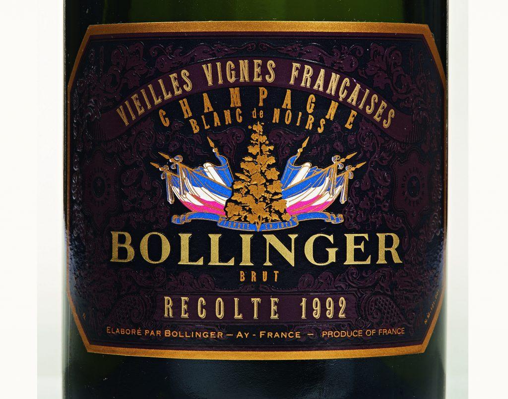 Bollinger 1992, Vieilles Vignes Francaises