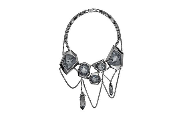 Reverse Necklace creado por Jean Paul Gaultier para Atelier Swarovski.