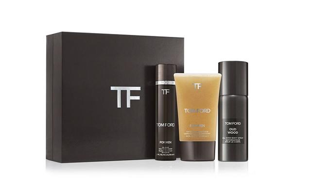 Kit de regalo de belleza para hombre de Tom Ford.