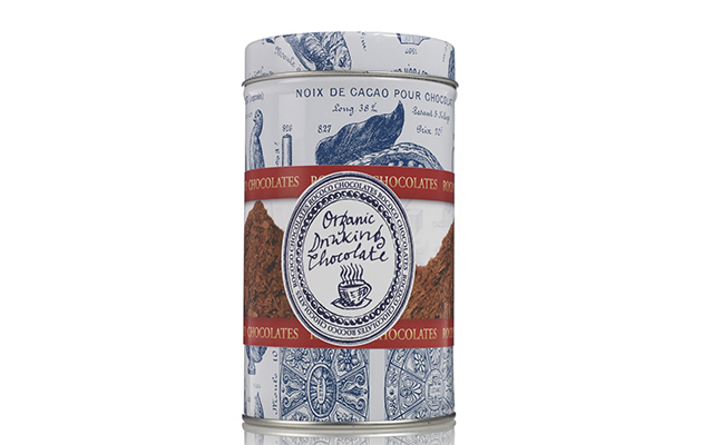 Povo de chocolate orgánico de la tienda Rococo Chocolates en Londres.