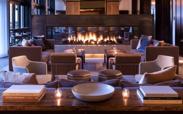 Interior del hotel Four seasons en Vail.