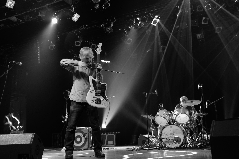 Lee Ranaldo, ex guitarrista de Sonic Youth. (Foto: Cortesía Aural.)