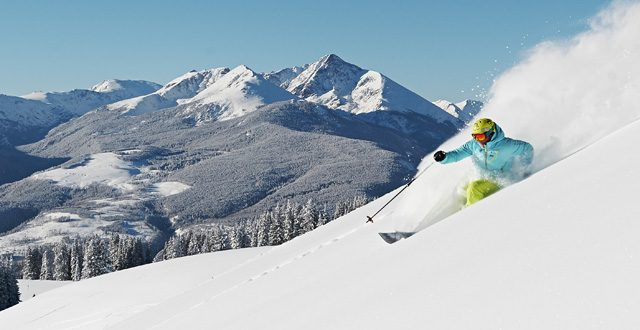 Una de las atracciones principales de Vail son sus pistas de esquí clasificadas como negras.