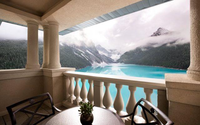 Vista desde una de las suites del hotel.