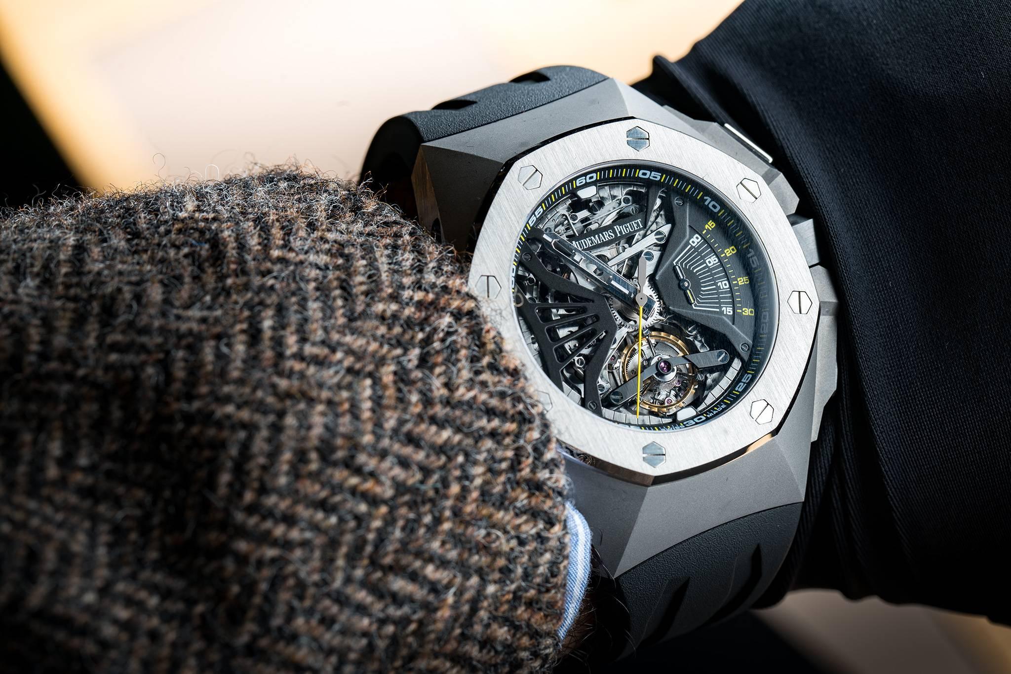 Alguien que tiene interés en Patek Philippe o Vacheron Constantin puede  apreciar un reloj AP al igual que alguien que colecciona MB F. 56f4e0bef47
