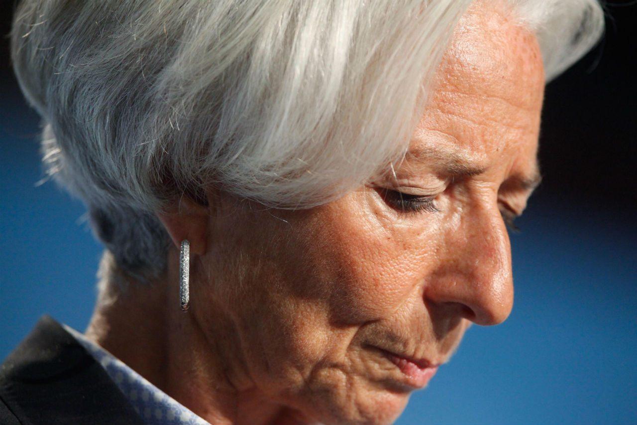 Corte declara culpable a Lagarde de negligencia, pero no cumplirá condena