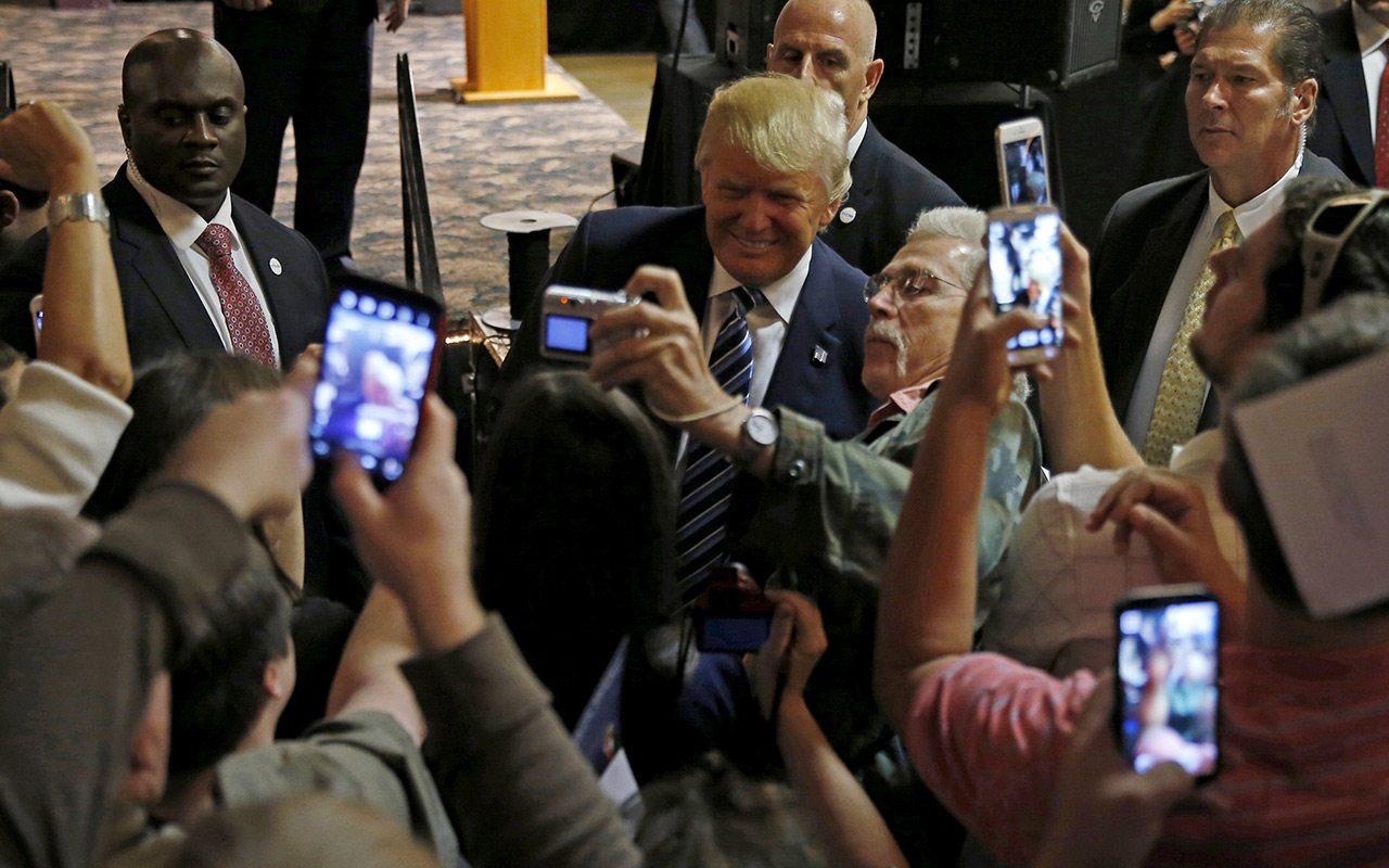 Retroalimentación de las redes y Trump