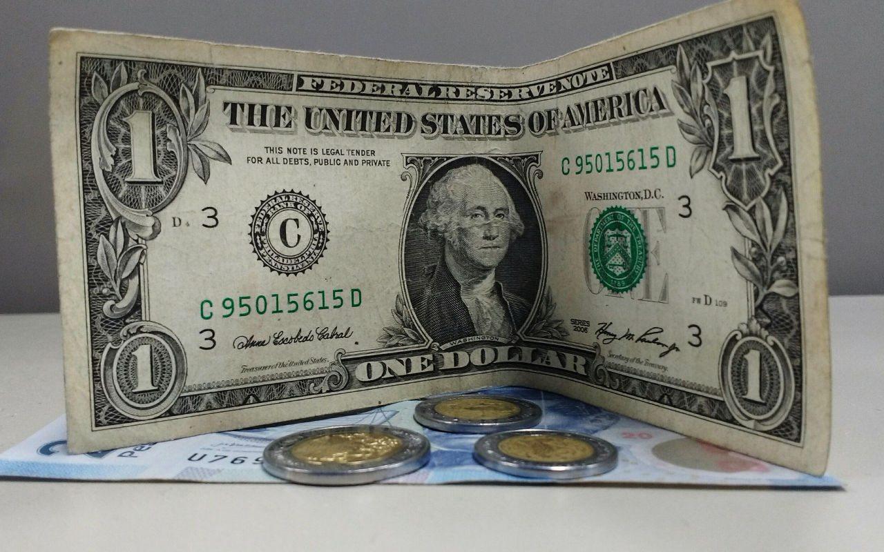 Dólar se vende hasta en 19.63 pesos en bancos