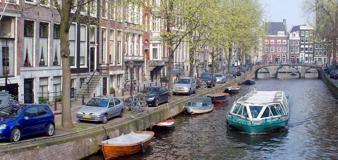 Barcos robot navegarán por los canales de Ámsterdam