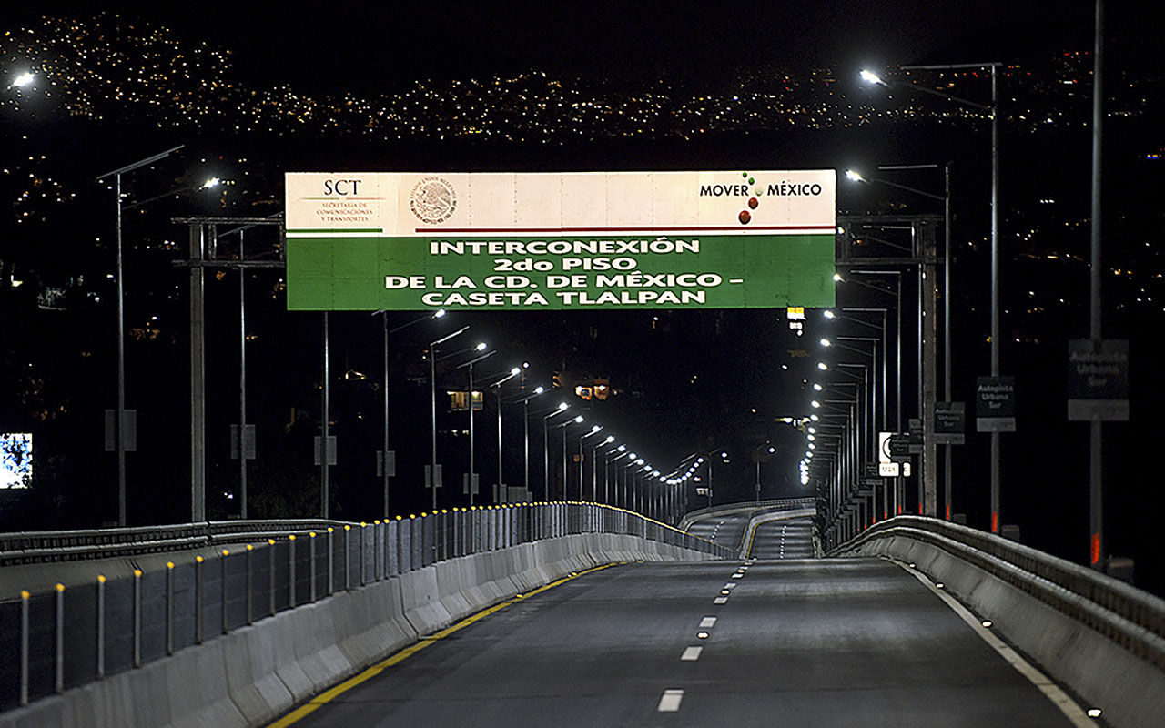 Burocracia impedía la apertura de la Autopista Urbana Sur, revela Mancera