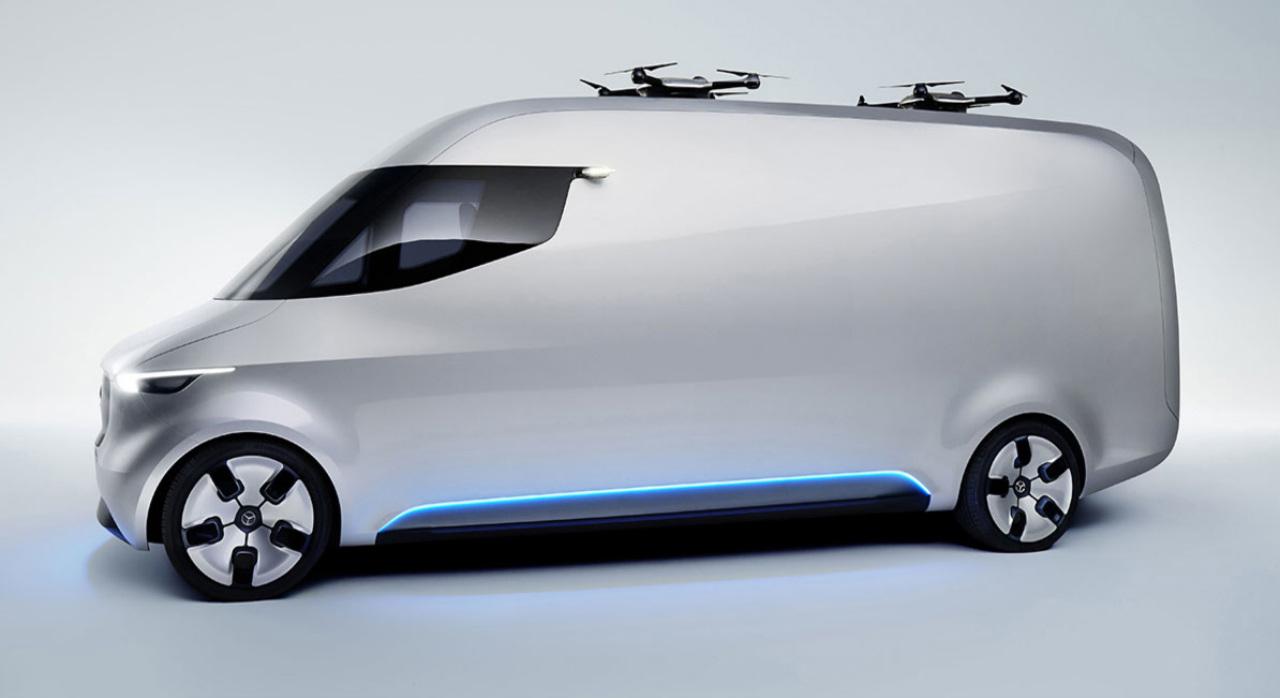 La nave nodriza de drones con la que Mercedes Benz cambiará las entregas
