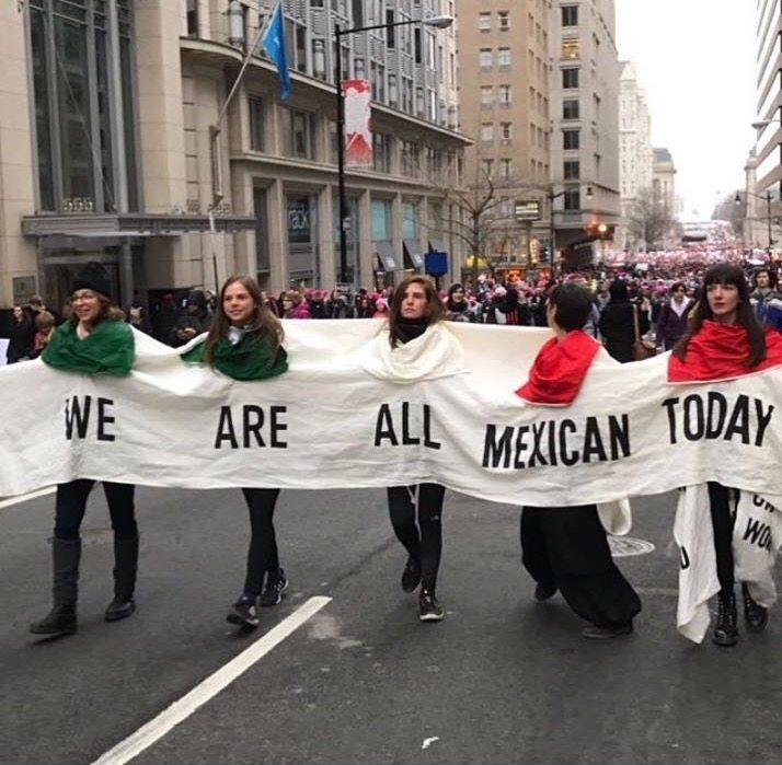 Women's March: la unión de voces que nos dignifica