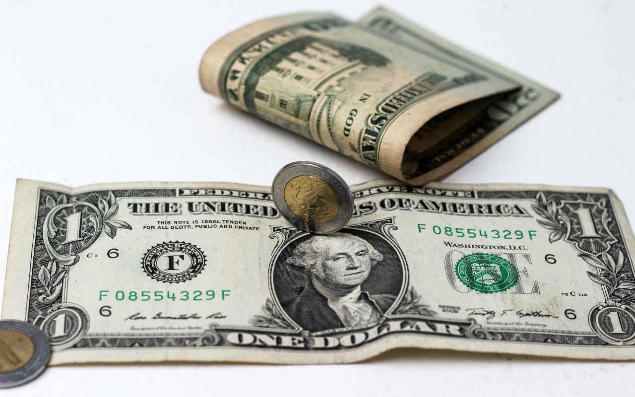 Moneda mexicana abre este lunes con pérdidas