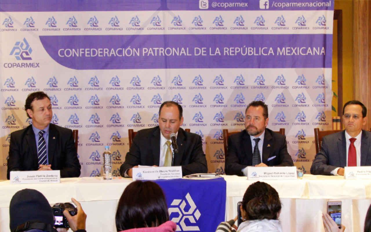 Es tiempo de que México haga valer sus intereses ante Trump: Coparmex