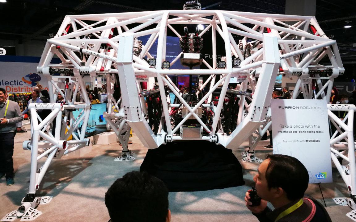 CES: Este robot de 3.5 toneladas nació para correr