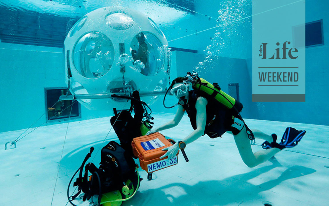 Conoce la nueva experiencia gastronómica bajo el agua