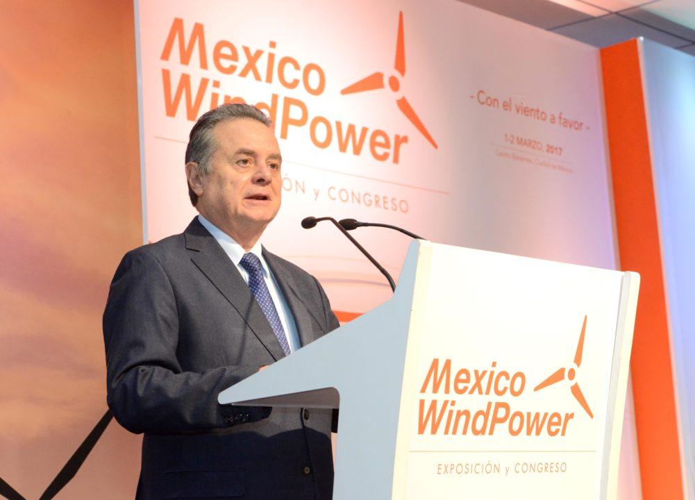 Empresas de energía eólica invertirán 6,600 mdd en 2019, prevé Sener