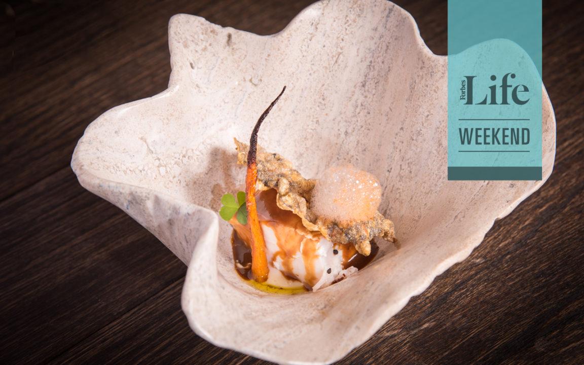 Obras maestras en materiales naturales para los chefs